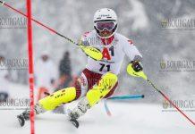 Альберт Попов в Кицбюэле 2019 стартовал в слаломе 71 финишировал 5