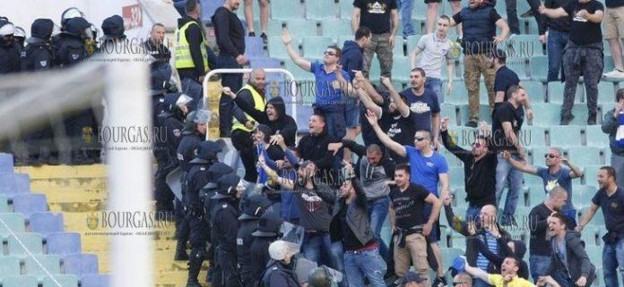 футбольные хулиганы Болгария