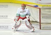 легенда болгарского хоккея, голкипер Константин Михайлов