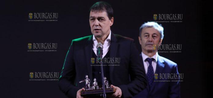 Петар Хубчев - признан лучшим футбольным наставником в Болгарии в 2018 году
