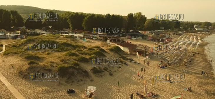 так выглядели дюны в местности Каваци неподалеку от кемпинга Смокиня