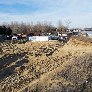 так выглядят дюны сейчас, после их разшуения