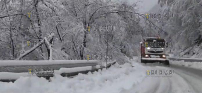 В болгарских Родопах высота снежного покрова превышает пол метра