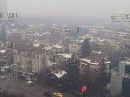 загрязненность воздуха в Софии