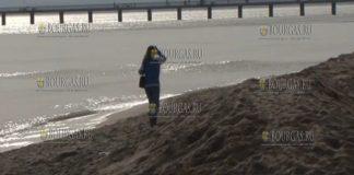 3 февраля и 4 февраля жителя Бургаса пришли на пляж