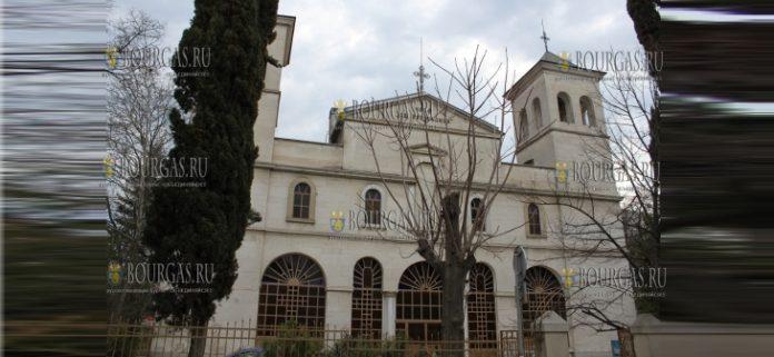 храм Света Богородица Бургас