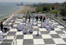 Свадебная церемония в Культурном Центре Морско казино в Бургасе