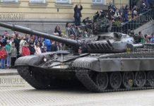 танк Т-72 в Болгарии