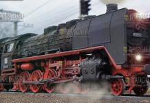 В Болгарию прибыл уникальный паровоз, который был выпущен в 1938 году