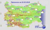 22 марта 2019 года, погода в Болгарии