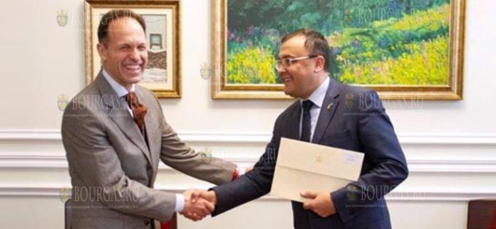 Новый посол Болгарии в Украине - Костадин Коджабашев