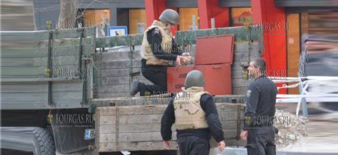В центре Варны обнаружен неразорвавшийся боеприпас