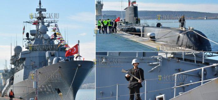 В Варненском заливе пройдут болгаро-турецкие военно-морские учения