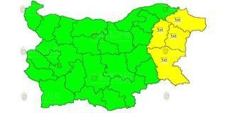 14 апреля 2019 года Желтый код в Болгарии
