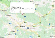 3 апреля 2019 года, землетрясение в Болгарии