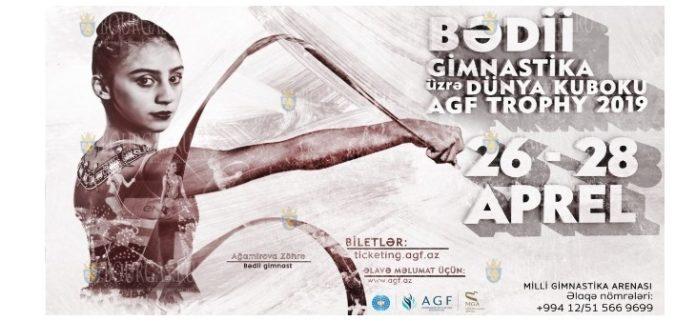 Этап Кубка Мира по художественной гимнастике в Баку, апрель 2019 года