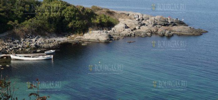 пляж Райския залив