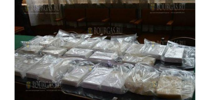 Сумка с кокаином найдена на курорте недалеко от Варны