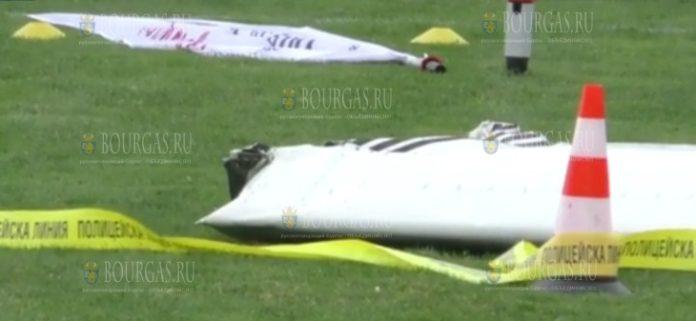 в Болгарии разбился самолет