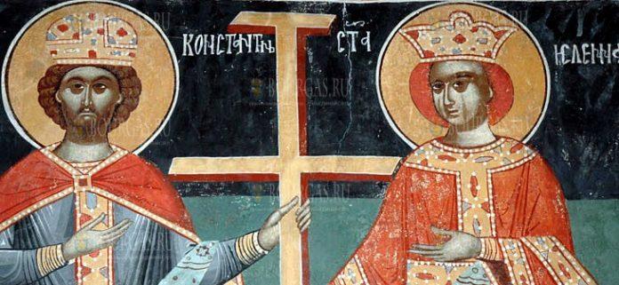 21 мая православные в Болгарии почитают святых апостолов Константина и Елену