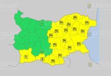 5 мая 2019 года Желтый код в Болгарии