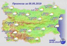 5 мая погода в Болгарифи