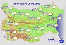 6 мая погода в Болгарии