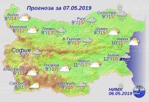 7 мая погода в Болгарии