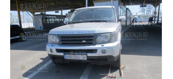 авто угнали из Болгарии