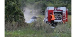 Мужчина и женщина погибли при аварии самолета в Болгарии