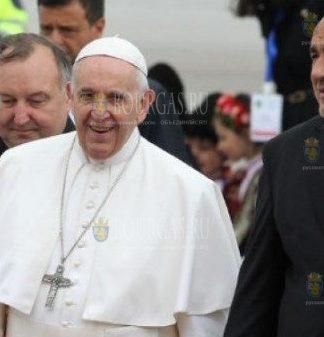 Папа Франциск и Бойко Борисов