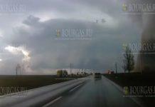 торнадо на Северо-Востоке Болгарии