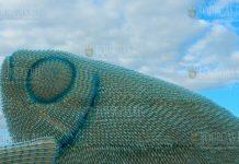 В Морском саду Бургаса появится огромная пластиковая рыба