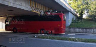 В Пловдиве застрял автобус