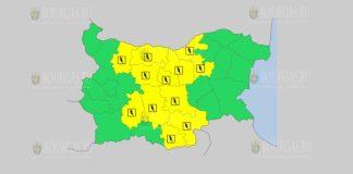 10 июня Желтый код в Болгарии