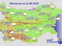 11 июня погода в Болгарии