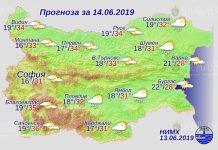 14 июня погода в Болгарии