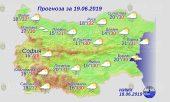 19 июня погода в Болгарии