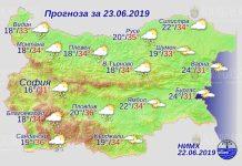 23 июня погода в Болгарии