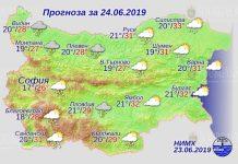 24 июня погода в Болгарии