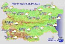 25 июня погода в Болгарии