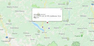 6 июня землетрясение в Болгарии