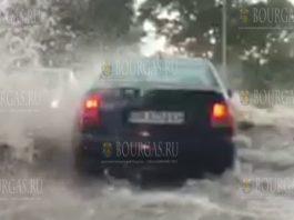 Буря и наводнение накрыли Пловдив