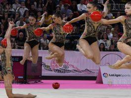Квинтет болгарских гимнасток выиграл серебро на Европейских играх в Минске