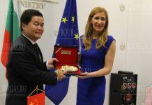 Министр туризма Болгарии приняла недавно назначенного Чрезвычайного и Полномочного Посла КНР в Болгарии