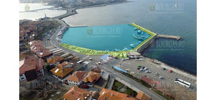 Новый рыбный порт Несебра