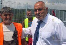 Премьер-министр Бойко Борисов проинспектировал строительные и ремонтные работы на виадуках на трассе Тракия