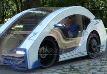 Студенты из Бургаса создали электромобиль