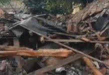 Ураган пронесся над болгарским городком Котел