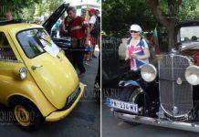 12-й ретро-парад автомобилей в Бургасе